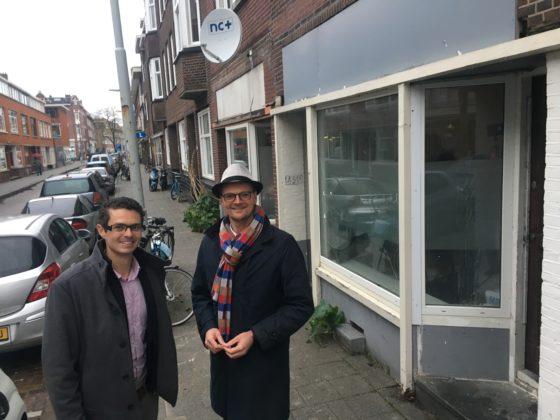 Roel van Tatenhove (links) en  Paul van der Hoek