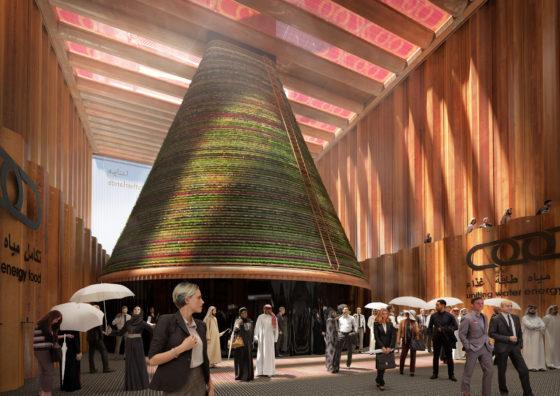 Galerij Dutch pavilion Dubai