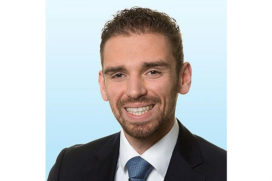 Justin Arnolli voorzitter Young Sounding Board Colliers