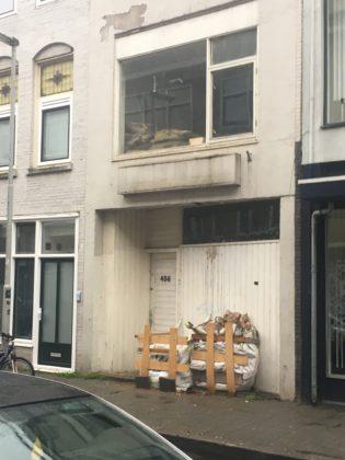 Voormalig winkelpand aan de Katendrechtse Lagedijk, Rotterdam