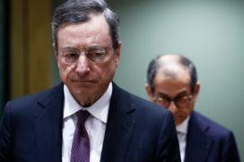 ECB verlaagt verwachtingen inflatie en groei