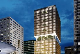 Bouw kantoor Central Park in Utrecht van start