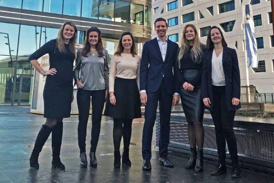 Nieuw bestuur Jong Onroerend goed Utrecht