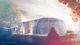 Geprinte veergaderlocatie  gebouw artistimpression 80x45