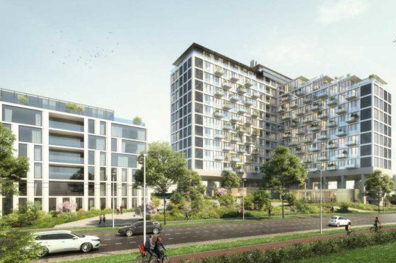 High Park getransformeerd naar 289 appartementen