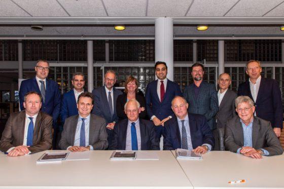 Ondertekening grondreserveringsovereenkomst Schieveste