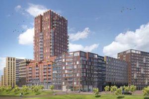 Honderden appartementen en twee nieuwe hotels in Stationsgebied Amsterdam-Noord