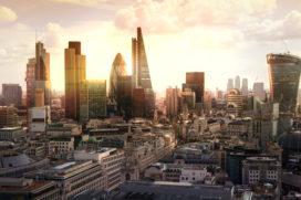 Kantoorhuren Londen slechts licht gedaald