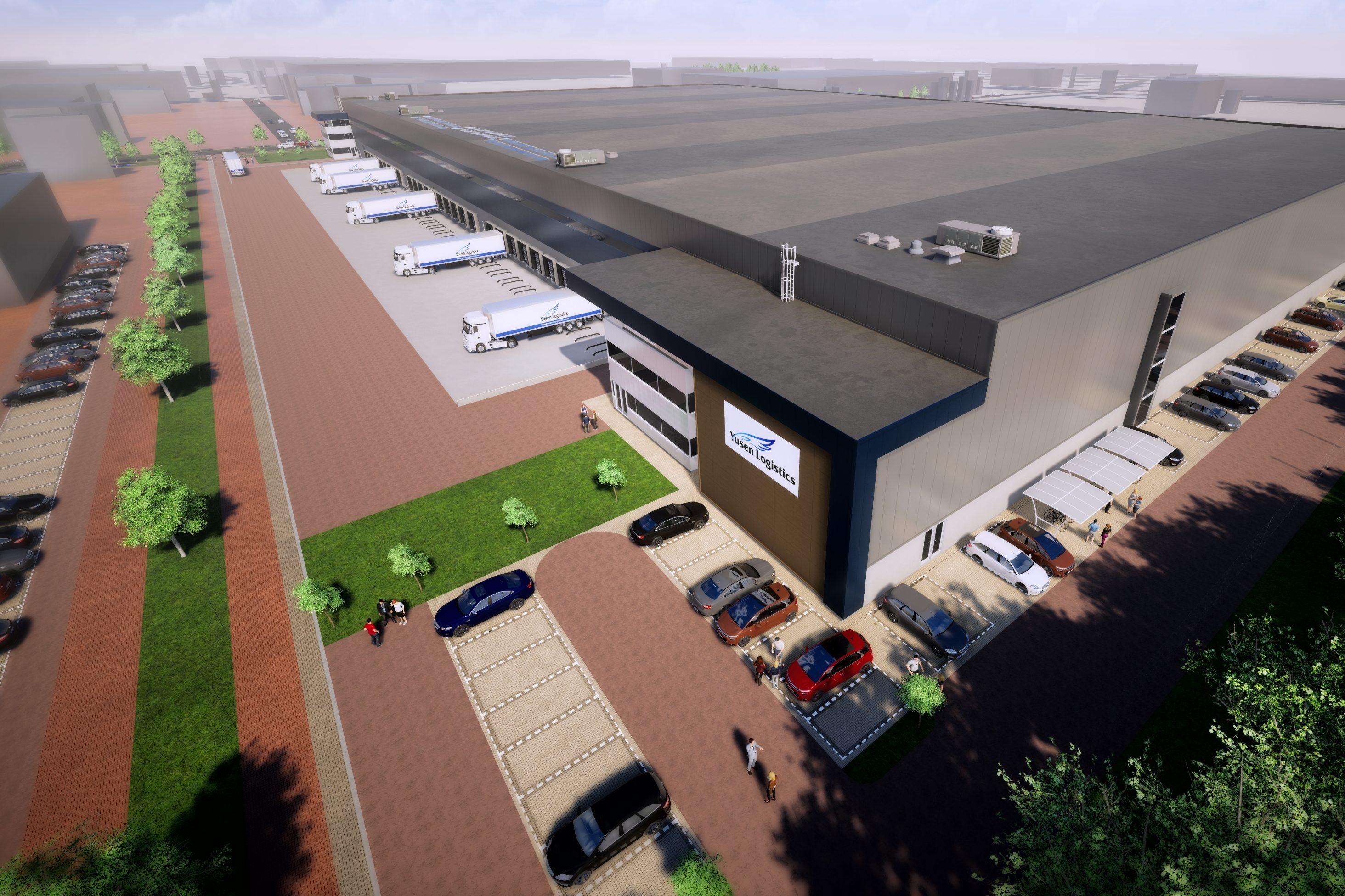 Yusen Logistics Huurt 26000 M2 Nieuwbouwmagazijn