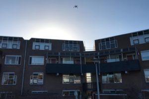 Haag Wonen zet drone in voor woningonderhoud