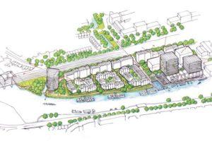 Leidse betoncentrale maakt plaats voor woonwijk
