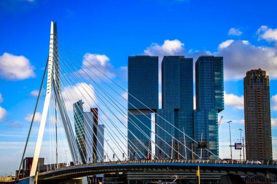 Toerist vindt nog wel een plekje in hotspot Rotterdam