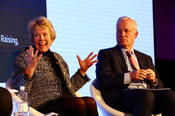 Anne Kavanagh en Michael Cochran, ULI-conferentie Londen 2019