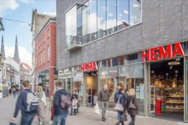 Bouwinvest neemt Tilburgse winkelpanden Wereldhave over