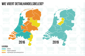 Provincies boeken vooruitgang bij aanpak winkelleegstand