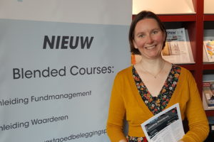 Jantine Schrader programmamanager bij Asre