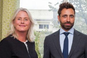 Sonja van der Kamp en Niels van Tamelen
