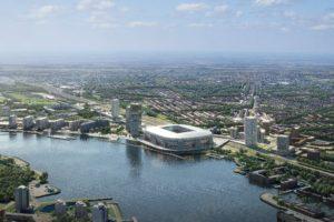 Ook zonder stadion perspectief voor Feyenoord City
