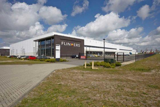 Flinders huurt 14000 m2 van DHG en Logwise