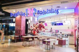 Baskin-Robbins heeft eerste handvol filialen