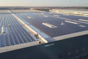 Sunrock realiseert zonnedak op distributiecentrum van Coolblue