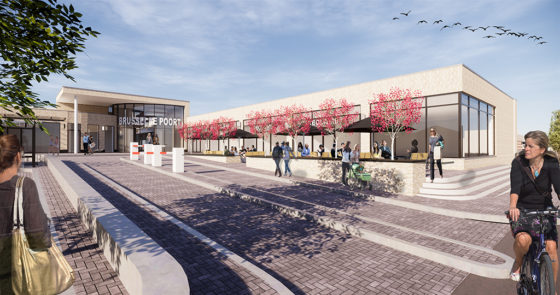 Herontwikkeling winkelcentrum Brusselse Poort in Maastricht gestart
