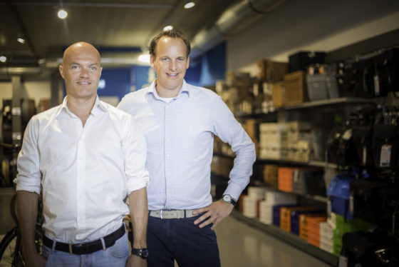 Dick Mantel en Olaf Heller