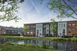 Bouw 85 woningen in Kop de Veste Lelystad