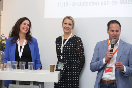 Claudia van Haaf, Marieke Mentink en Bart-Jan Harmsen