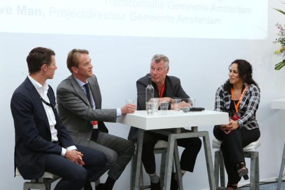 Olaf Nieuwenhuis, Bart Meijer, Dave Man en Nabila Bouabbouz