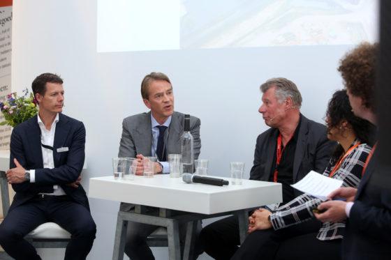 Olaf Nieuwenhuis, Bart Meijer, Dave Man, Nabila Bouabbouz en Peter Hanff