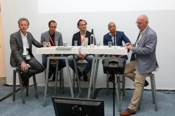 Cor Treure, Wouter Kolbeek, Barend Kuene, Terrence Wong en Bert Pots, foto Cynthia van Dijke