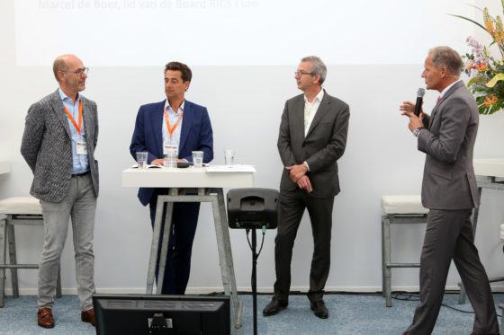Lorenzo Dorigo, Marcel de Bpoer, Cyril van den Hoogen en Tom Berkhout
