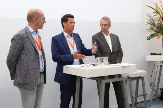 Lorenzo Dorigo, Marcel de Boer en Cyril van den Hoogen