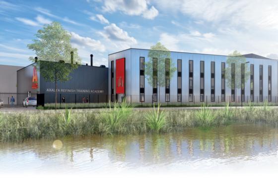 Nieuw hoofdkantoor voor Axalta Refinish in Tiel