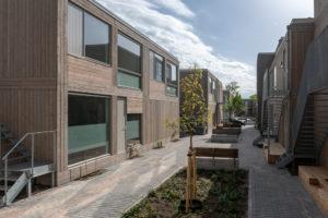 Friso Bouwgroep bouwt razendsnel 43 tijdelijke woningen in Eindhoven