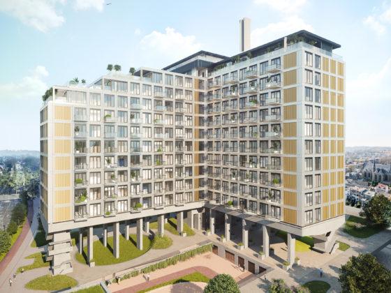 Verkoop appartementen voormalig ING-kantoor Arnhem start