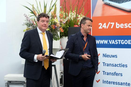 Johannes van Bentum en Michiel Hofman