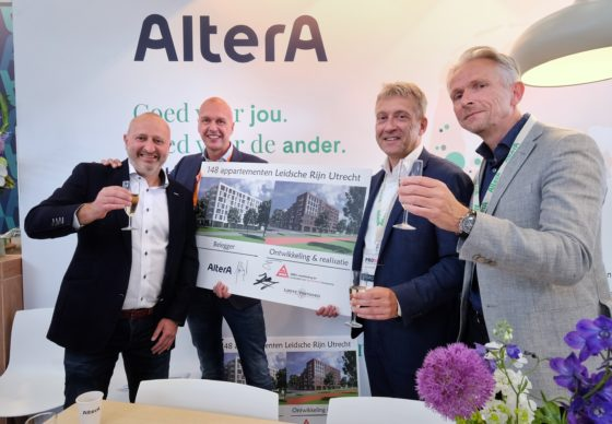 René van Arnhem, Rob Looye, Jaap van der Bijl en Bart Visscher