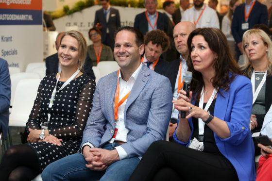 Marieke Mentink, Bart-Jan Harmsen en Monique van Haaf