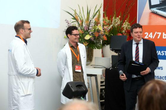 Michel Kolenbrander, Reggie Hulsken en Johannes van Bentum