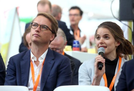 Sander van den Heuvel en Joëlle Lokhorst
