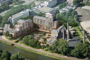 Bouw Wilhelminawerf  in Utrecht van start