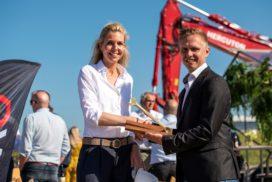 Eerste kolom voor nieuwe warehouses in Hoofddorp