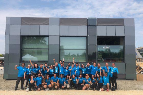 Delftse studenten tweede op WK zuinig bouwen