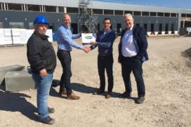 Aan de Stegge Twello bouwt distributiecentrum Sligro Maastricht