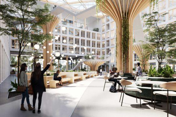 Edge legt eerste steen Duits hoofdkantoor Vattenfall