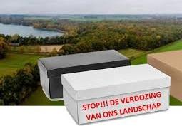 Petitie tegen distributiecentra in Tilburg