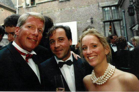 Robert van Duyl (links), Marjolein Westendorp (rechts), 1994