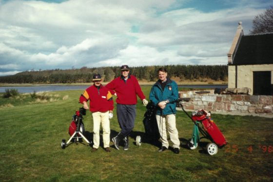 Golftrip 1998, Karel Abbenes (rechts)